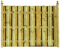Treated Fencing Boards